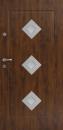VHODNA PROTIVLOMNA VRATA DELTA FRAME DIAMOND3 INOX